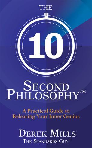 Bild på 10-second philosophy (r) - a practical guide to releasing your inner genius