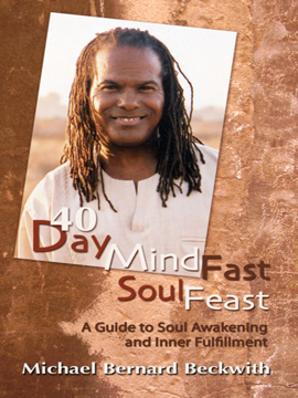 Bild på 40 Day Mind Fast Soul Feast: A Guide to Soul Awakening and Inner Fulfillment