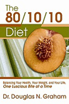 Bild på 80/10/10 diet - balancing your health, your weight and your life - one lusc