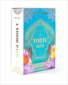 Bild på A Yogic Path Oracle Deck and Guidebook (Keepsake Box Set)