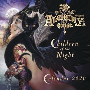 Bild på Alchemy 1977 Gothic 2020 Calendar