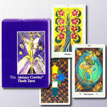 Bild på Aleister Crowley Thoth Tarot - De Luxe