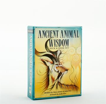 Bild på ANCIENT ANIMAL WISDOM (38-card deck & 48-page guidebook)