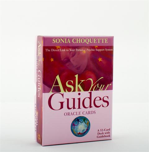 Bild på Ask your guides oracle cards