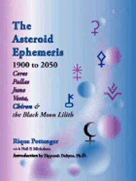 Bild på Asteroid Ephemeris 1900-2050: Including Chiron & The Black Moon Lillith (O) (Revised)