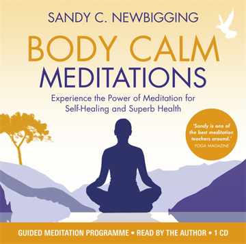 Bild på Body calm meditations - experience the power of meditation for self-healing