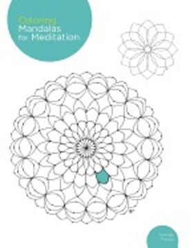 Bild på Coloring mandalas for meditation - 200 original illustrations