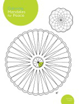 Bild på Coloring mandalas for peace - 200 original illustrations