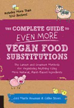 Bild på Complete guide to even more vegan food substitutions