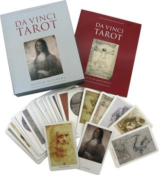 Bild på Da Vinci tarot (bok 144 sidor + 78 kort)