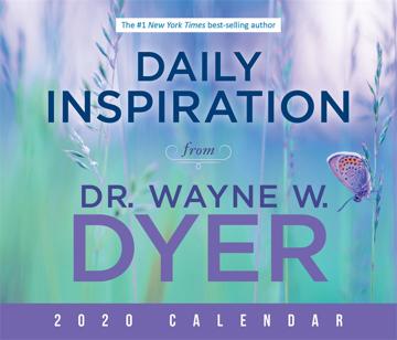 Bild på Daily Inspiration from Dr. Wayne W. Dyer 2020 Calendar