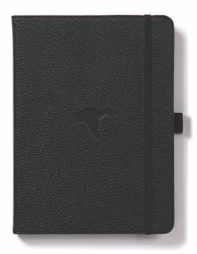 Bild på Dingbats* Wildlife A5+ Black Duck Notebook - Dotted