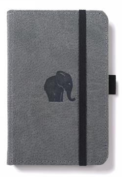 Bild på Dingbats* Wildlife A6 Pocket Grey Elephant Notebook - Lined