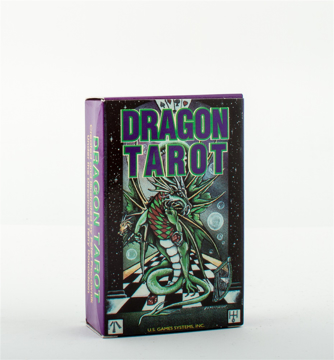 "Bild på Dragon Tarot Deck (78 Card Deck; 2-3/4"" X 4-3/8"") (Illustrat"