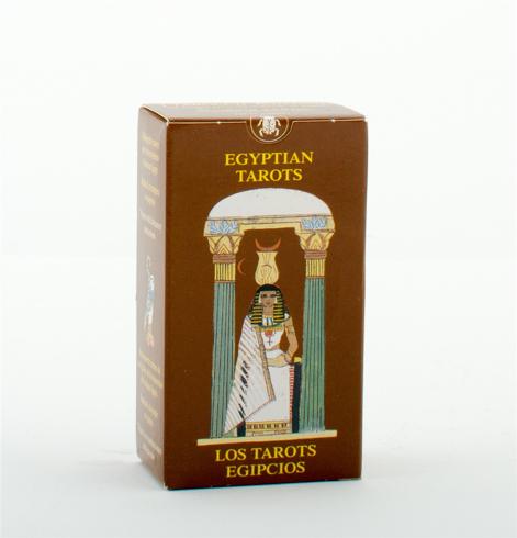 Bild på Egyptian tarot miniature deck