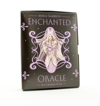 Bild på Enchanted Oracle (Includes 36-Card Deck, Book, Silver Organdy Pouch W/Cord Draw String & A Fairy Pen