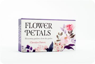 Bild på Flower Petals Mini Inspiration Cards : Blossoming Guidance From the Garden