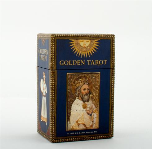 Bild på Golden Tarot (78 Card Deck)