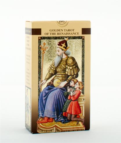Bild på Golden tarot of the renaissance