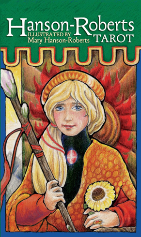 Bild på Hanson-Roberts Tarot Deck: 78-Card Deck