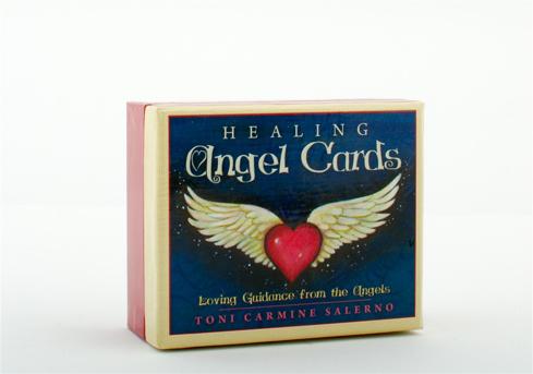 Bild på Healing Angel Cards (55 Cards, Custom-Designed Hard Cover Box Set)
