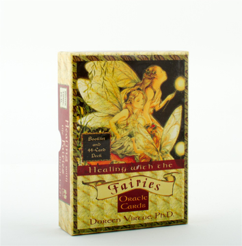 Bild på Healing with the fairies oracle cards - heal your life with help from the fairies