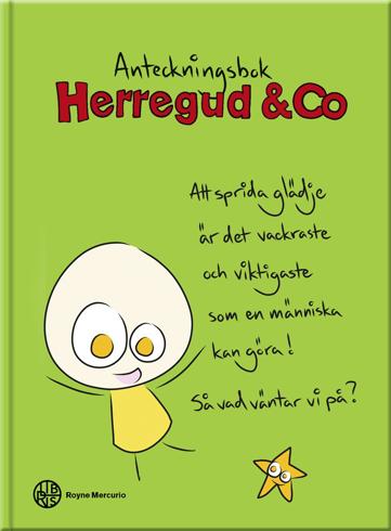 Bild på Herregud & Co anteckningsbok