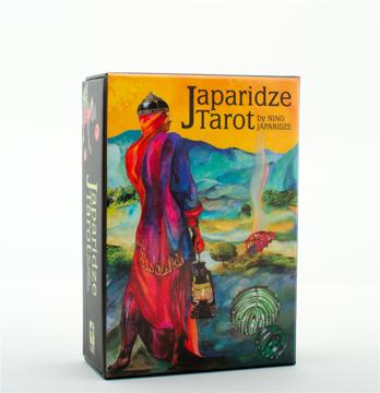 Bild på JAPARIDZE TAROT (78-card deck & 178-page book)