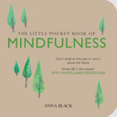 Bild på Little pocket book of mindfulness - dont dwell on the past or worry about t