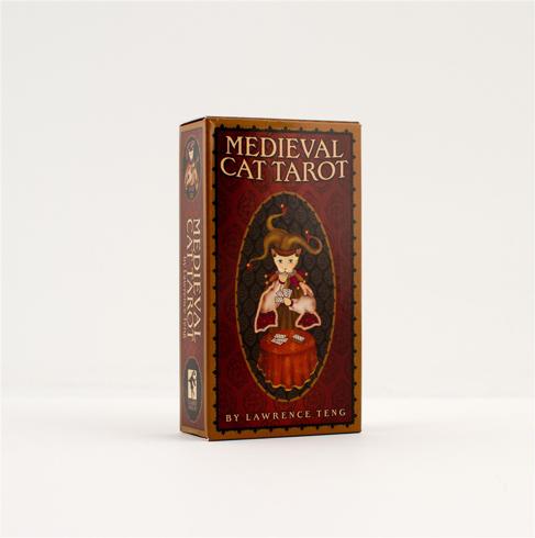 Bild på Medieval Cat Tarot