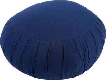 Bild på Meditationskudde: rund (blå)