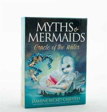 Bild på Myths and mermaids : oracle of the water (44 cards & guidebook; boxed)