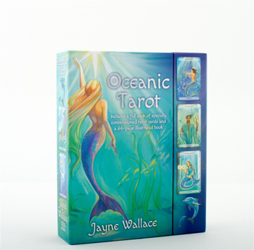 Bild på Oceanic Tarot Boxed Set: Includes a Full Deck of Specially Commissioned Tarot Cards