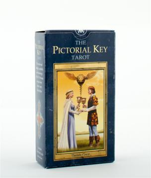 Bild på Pictorial key tarot - card deck and tarot bag set