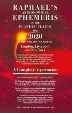 Bild på Raphael's Ephemeris 2020