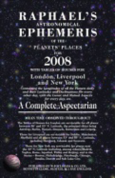 Bild på Raphael's Astrological Ephemeris 2008