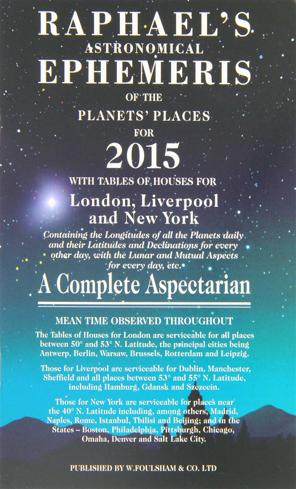 Bild på Raphael's Astronomical Ephemeris 2015