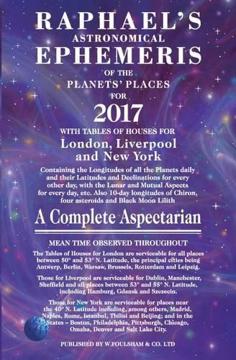 Bild på Raphaels astronomical ephemeris of the planets places
