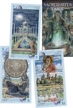 Bild på Sacred Sites Tarot