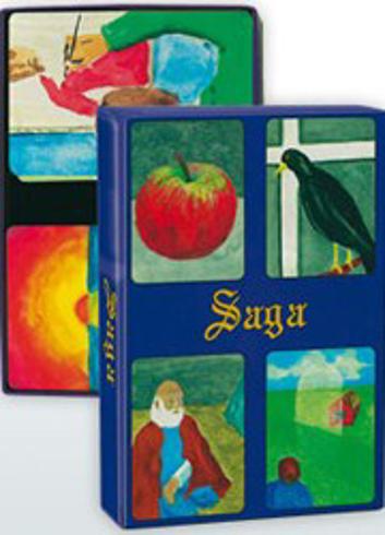 Bild på Saga : Bildkort - en bilderbok utan text / Symbolkort för samtal, terapi och coaching