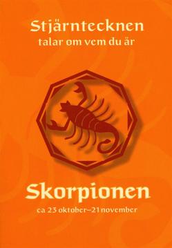Bild på Stjärntecknen talar om vem du är : skorpionen