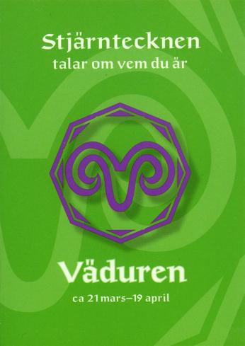Bild på Stjärntecknen talar om vem du är : väduren