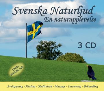 Bild på Svenska naturljud (3 cd) : En naturupplevelse