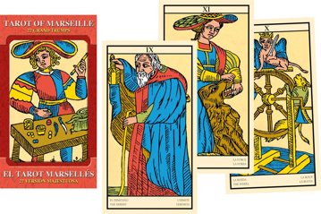 Bild på Tarot of Marseille Grand Trumps