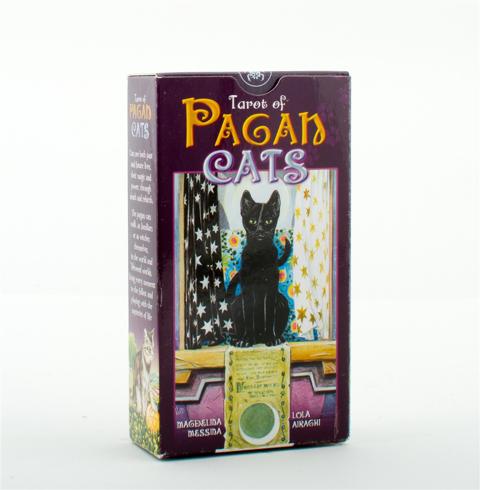 Bild på Tarot of the pagan cats