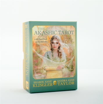 Bild på The Akashic Tarot: A 62-Card Deck and Guidebook