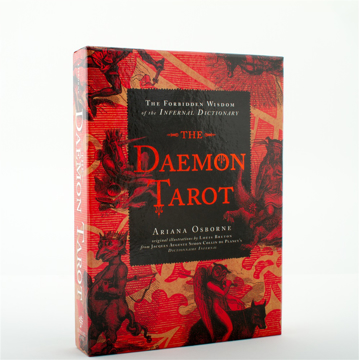 Bild på The Daemon Tarot (Boxed Set) : The Forbidden Wisdom of the Infernal Dictionary