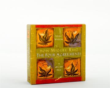 Bild på The Four Agreement Cards