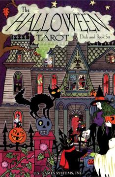 Bild på The Halloween Tarot Deck & Book Set: 78-Card Deck [With Book]