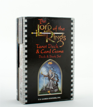 Bild på The Lord of the Rings Tarot Deck/Book Set [With Book]